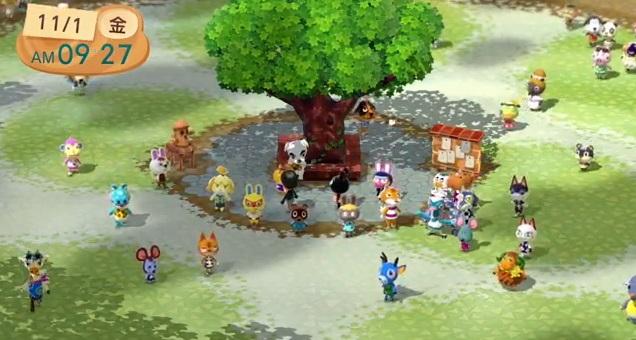 どうぶつの森こもれび広場:Wii版