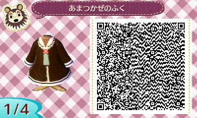 どうぶつの森:【QRコード】アニメの制服のマイデザインまとめ(艦これ・ラブライブなど)