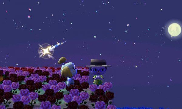 とび森:流星群(流れ星)はいつ見れる?時間帯やお祈りでもらえるプレゼントなど!