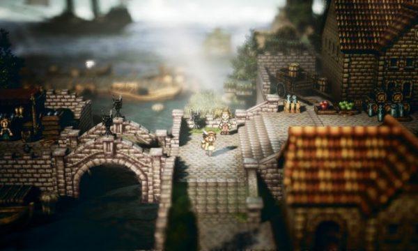 SWITCH新作RPG『プロジェクト オクトパストラベラー』が体験版から神ゲーと話題!!!