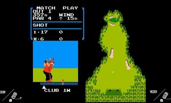 【リーク情報】ニンテンドースイッチ内部にファミコンレトロゲー『ゴルフ』が内蔵されている!?
