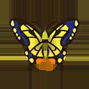 アゲハ蝶(森でとれる虫):ポケ森攻略