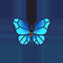 モルフォチョウ(森でとれる虫):ポケ森攻略