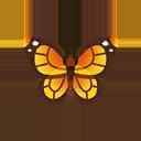 オオカバマダラ(森でとれる虫):ポケ森攻略