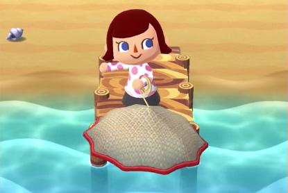 ポケ森攻略:【川】ナミナミ川の「とあみ」や釣りでとれる魚の種類と確率まとめ