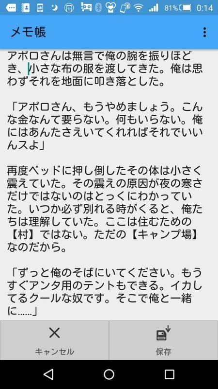 アポロさんと管理人の二次創作 - 03:ポケ森