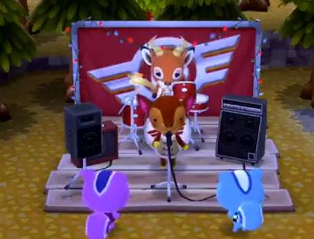 ポケ森:ロックステージはどうぶつ達が歌ってくれる!歌声やとたけけセッションまとめ
