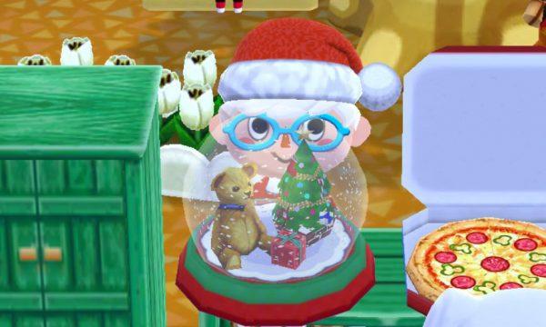 ポケ森攻略:「スノードーム」はタップで雪がキラキラ降るよ!(クリスマス限定家具)