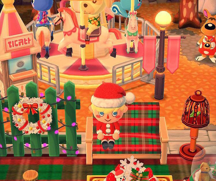 クリスマス家具×メリーゴーラウンド:ポケ森攻略ch
